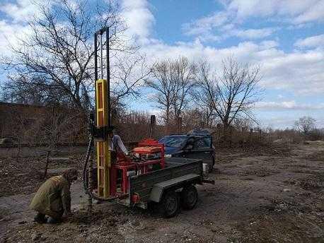 Геологические изыскания в Днепропетровской области