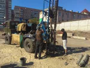 Инженерные изыскания под столичный рынок в г. Киев