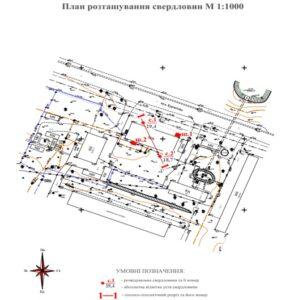 Інженерно-геологічні вишукування для реконструкції будівлі методом проходки шурфів